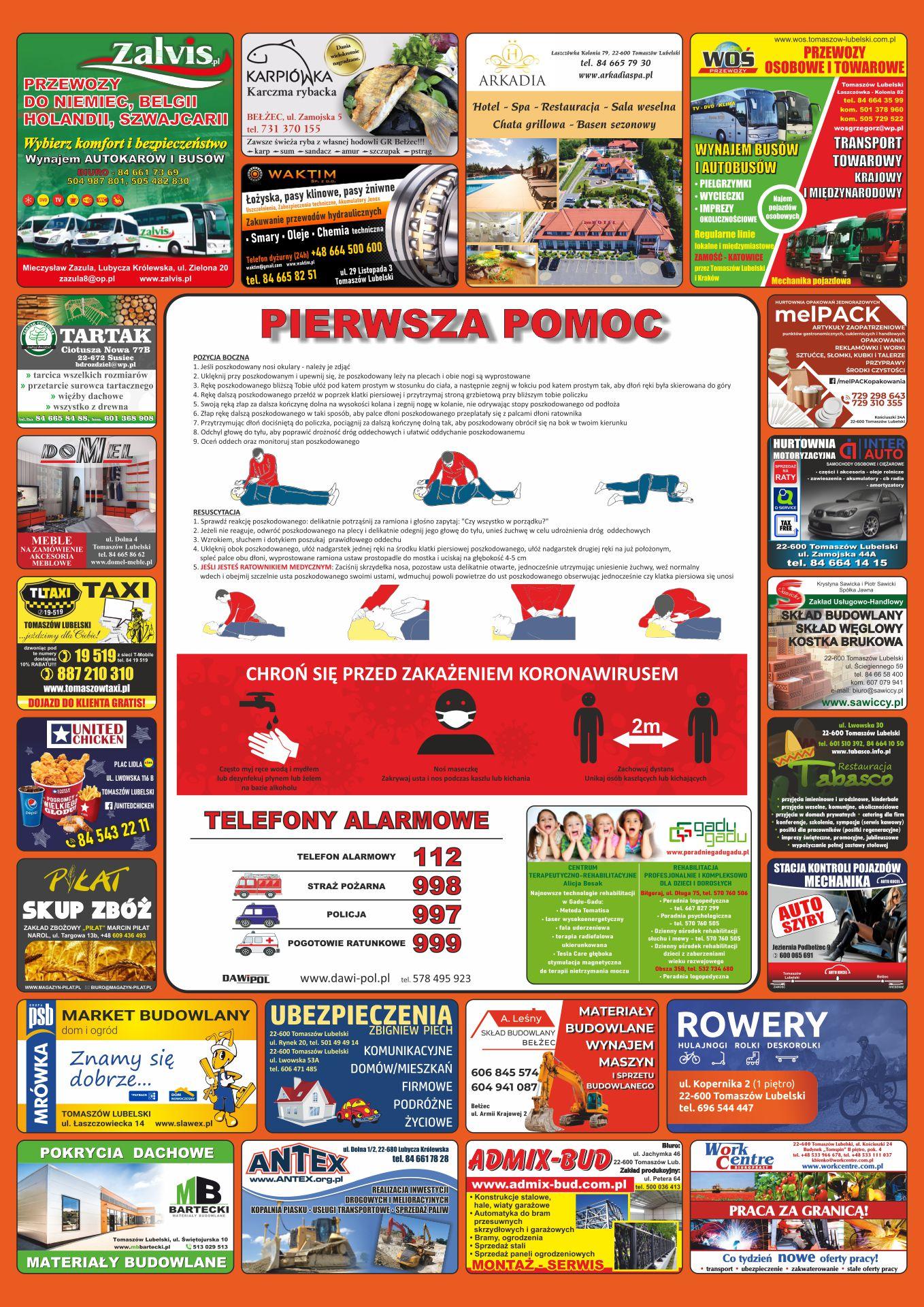 plakaty tomaszów lubelski