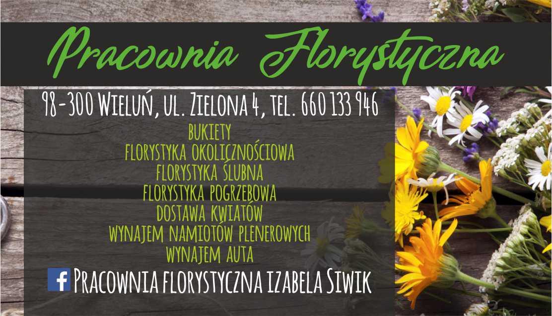 wizytówki - florystka